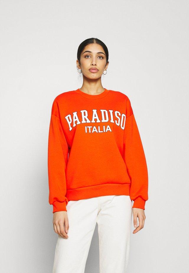 RILEY  - Sweatshirts - orange