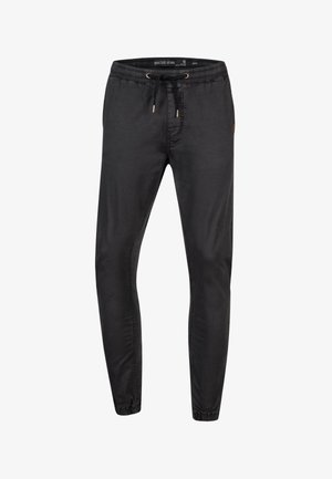 FIELDS - Stoffhose - black