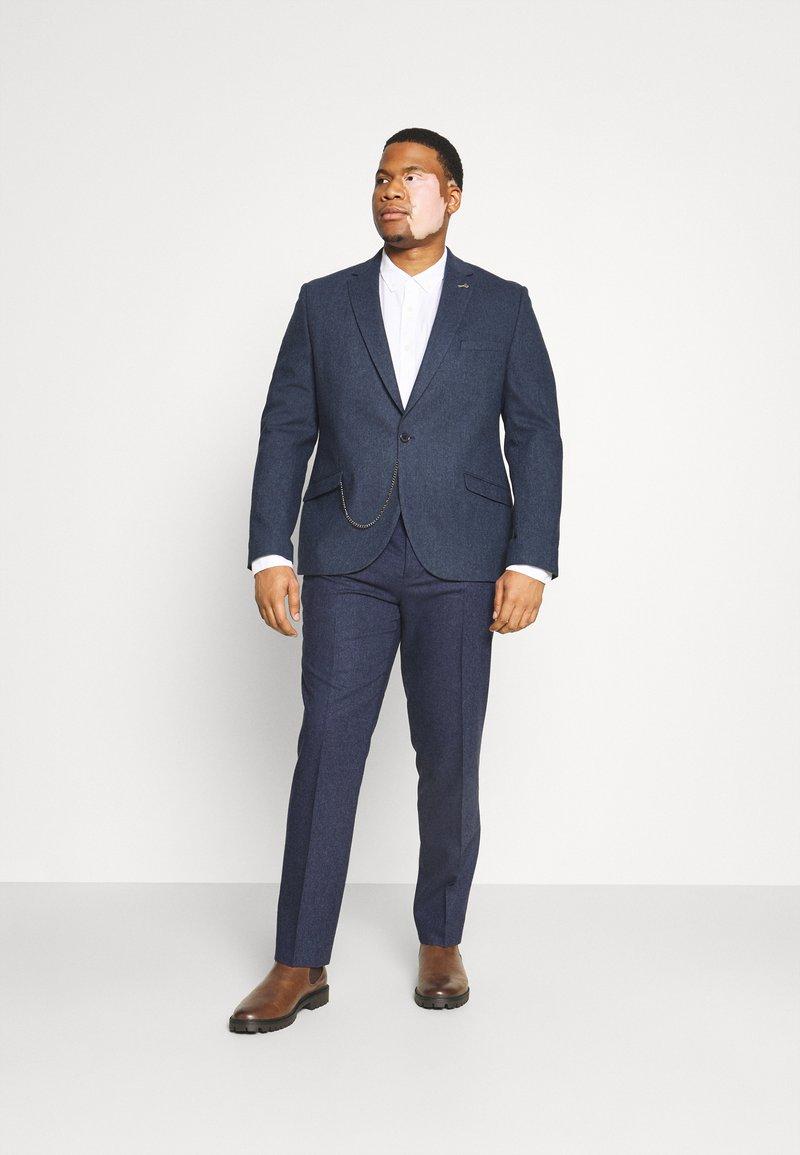 Shelby & Sons - UPTOWN SUIT PLUS SET - Suit - navy