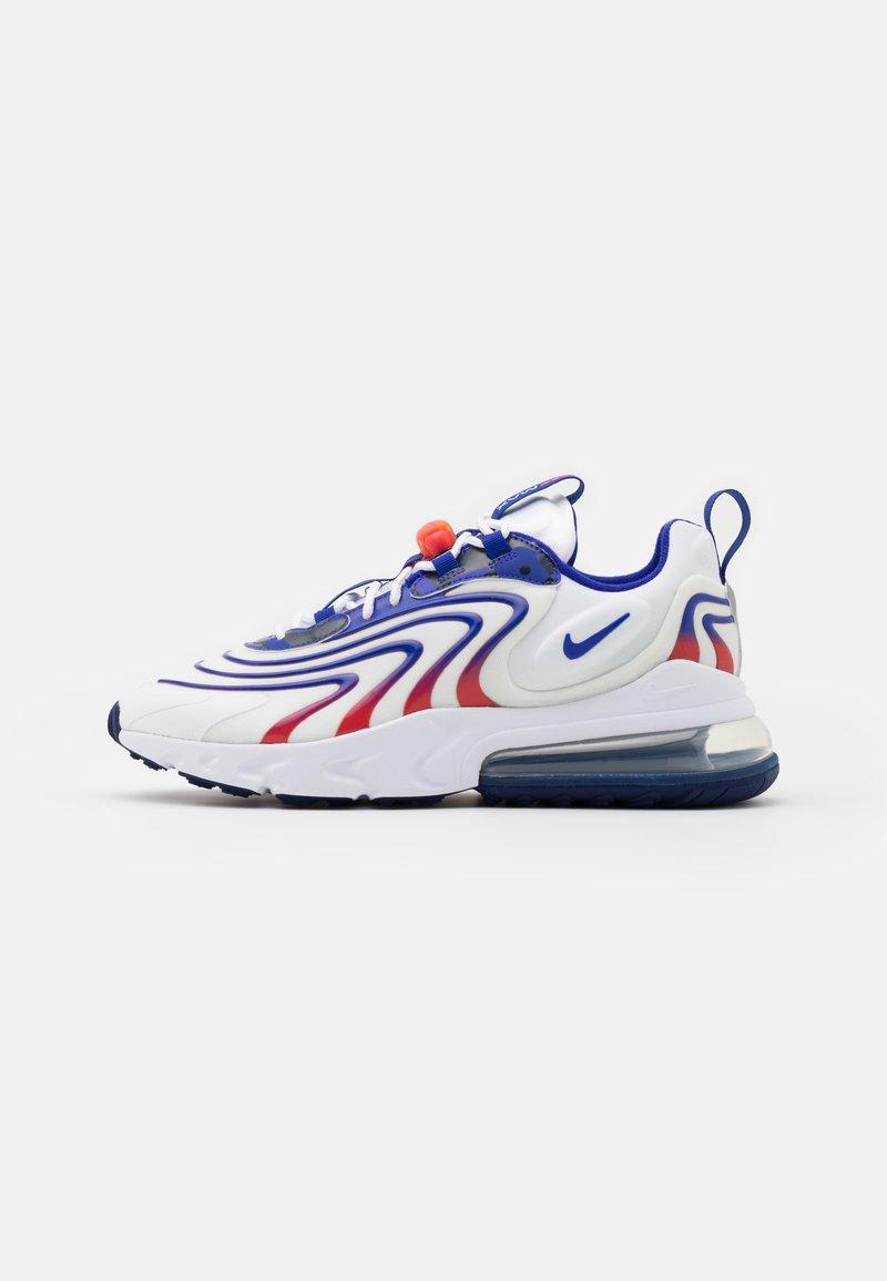 Nike Sportswear - AIR MAX 270 REACT UNISEX - Zapatillas - white/concord/ember glow
