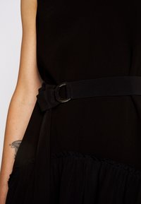 3.1 Phillip Lim - V NECK TANK DRESS SHIRRED SKIRT - Day dress - black - 6