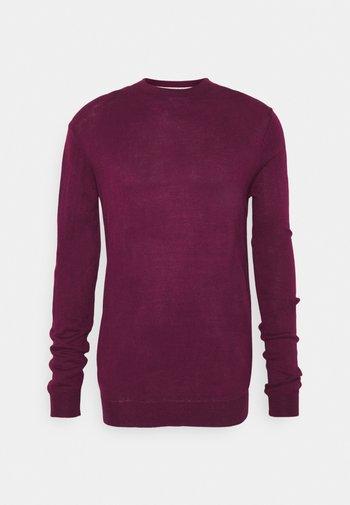 CREW - Sweter - burgundy