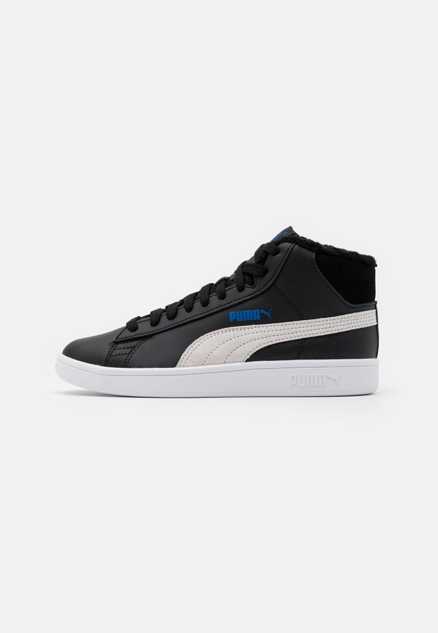 SMASH MID  - High-top trainers - black/white