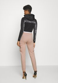 SIKSILK - CARGO JOGGERS - Cargo trousers - rose - 2