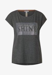 Street One - Print T-shirt - grau - 0