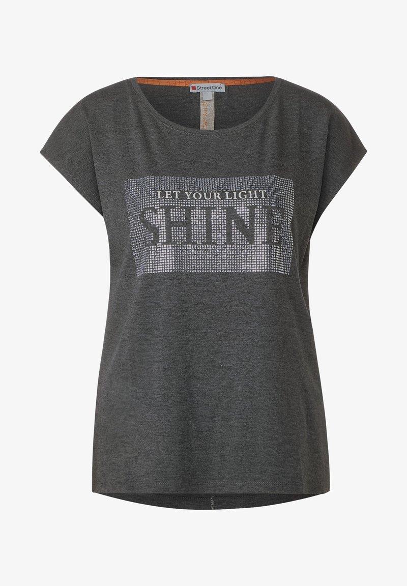Street One - Print T-shirt - grau