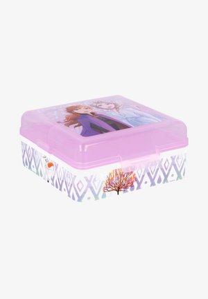 ANNA UND ELSA MIT 3 FÄCHERN - Lunch box - lila