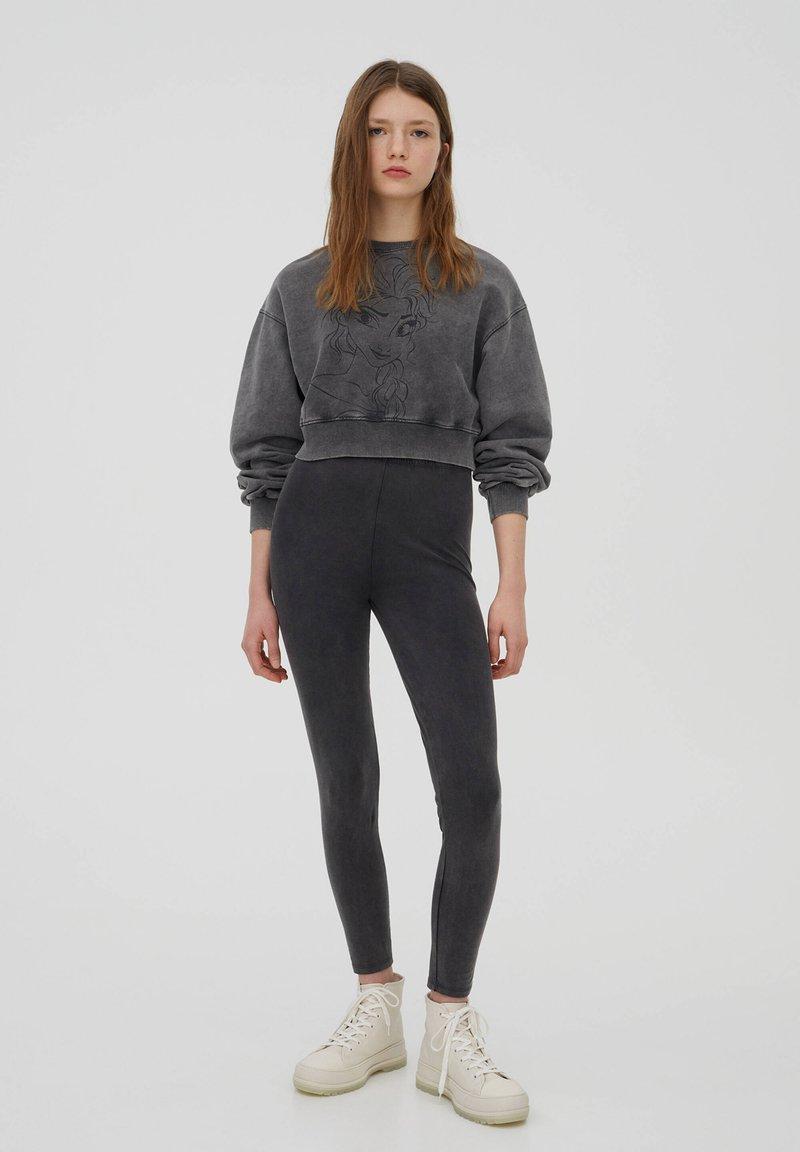 PULL&BEAR - DISNEY - Sweatshirt - dark grey