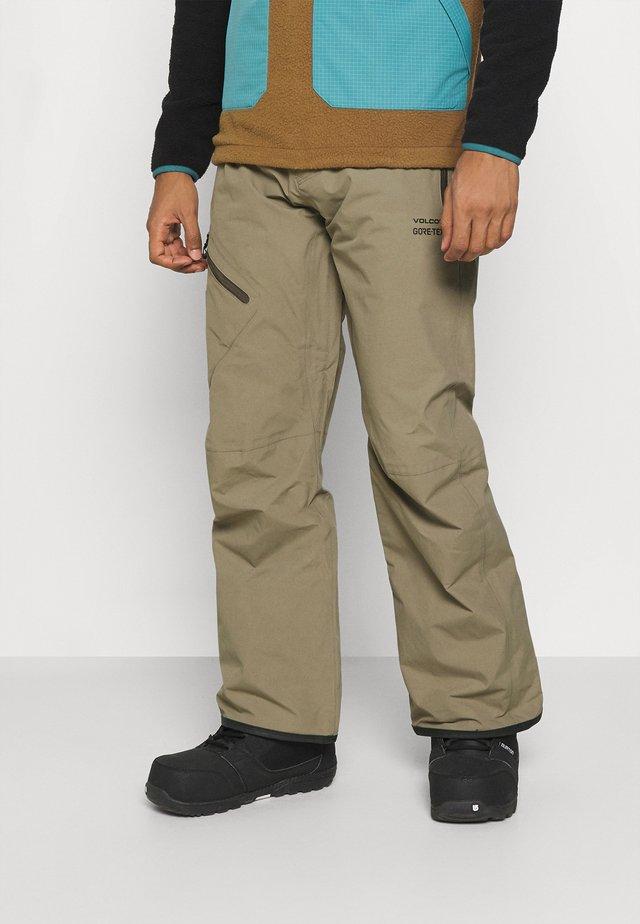 GORETEX PANT - Snow pants - teak