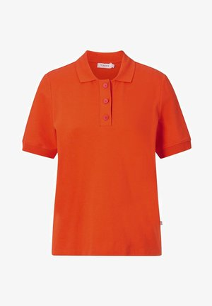 Polo shirt - poppy orange