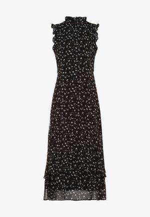 Vestido largo - aop- black