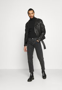 Be Edgy - BART - Leather jacket - black - 1