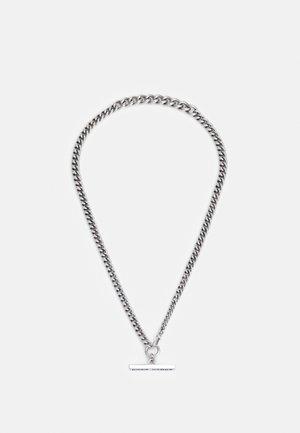 NECKLACE BAR UNISEX - Collana - silver-coloured