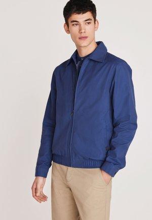 SHOWER RESISTANT  - Summer jacket - blue