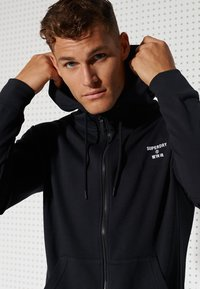Superdry - Sweatjacke - black - 1