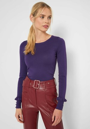 Jumper - deep violet