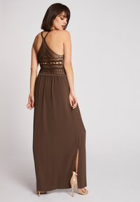 Morgan - Vestido largo - khaki - 1