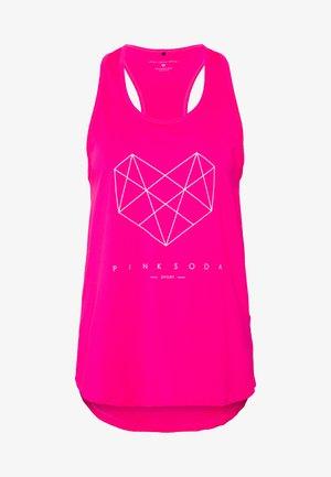 SHADOW TANK - Funkční triko - pink