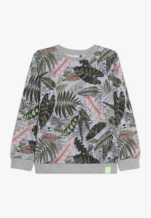 ALLOVER PRINT DIGITAL VEGETAL - Sweatshirt - grey heather