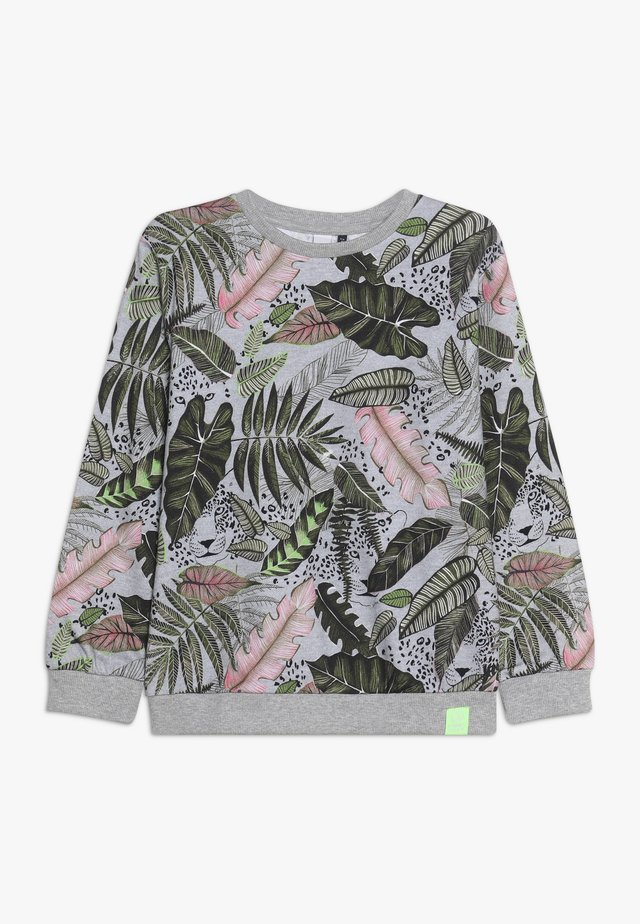 ALLOVER PRINT DIGITAL VEGETAL - Felpa - grey heather