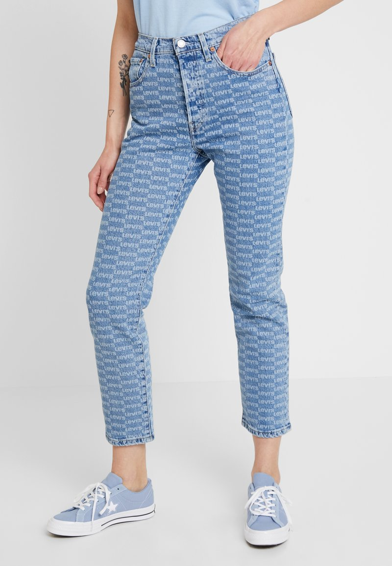 Levi's® - 501 CROP - Jeans Skinny Fit - light-blue denim/blue denim
