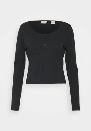 BRANDY TEE - Camiseta de manga larga - caviar