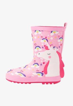 OLYMPIA - Botas de agua - pink