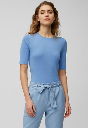 SHORT SLEEVE - Basic T-shirt - blue note