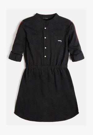 Shirt dress - schwarz