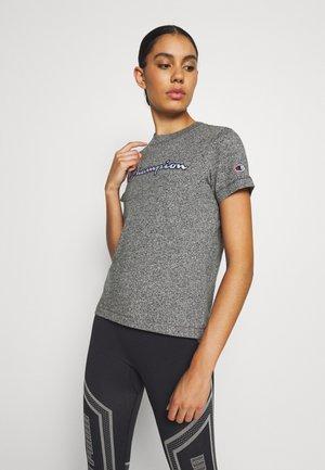 CREWNECK ROCHESTER - Print T-shirt - mottled grey