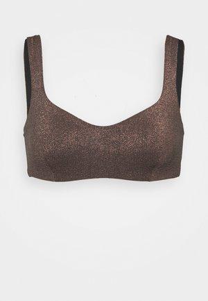 PALOMA WIRE TOP - Bikini top - black