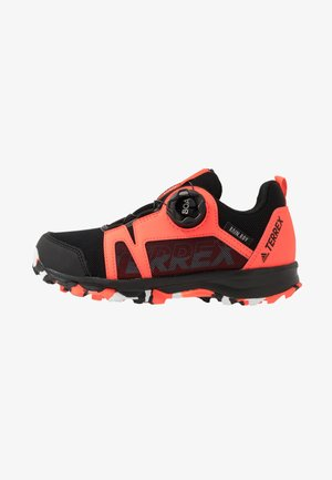 TERREX  AGRAVIC BOA R.RDY UNISEX - Hiking shoes - core black/footwear white/solid red