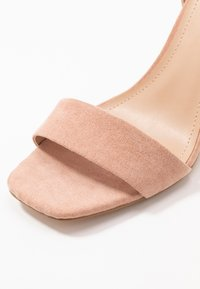 ONLY SHOES - ONLALYX  - Sandali con tacco - nude - 2