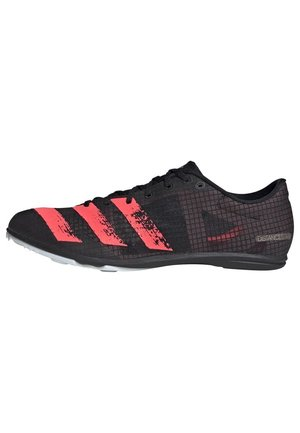 DISTANCESTAR SPIKES - Zapatillas de trail running - black