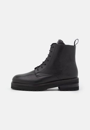 FIORE MARIA BOOT  - Platform ankle boots - black