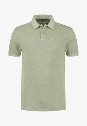 Poloshirt - silvered green