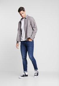 TOM TAILOR DENIM - CULVER STRETCH - Jeans Skinny Fit - used dark stone blue denim - 1