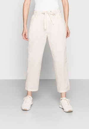 Trousers - summer taupe