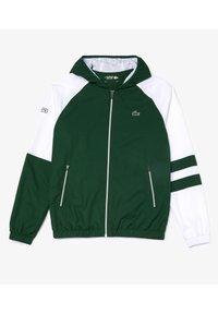 Lacoste Sport - WH2043 - Tracksuit - vert / blanc / vert / vert - 1