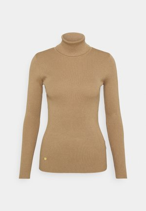 TURTLE NECK - Pullover - classic camel