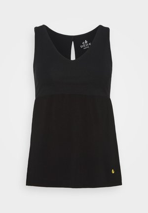 PEPLUM TANK - Top - black