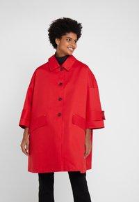 Mackintosh - HUMBIE COAT - Krátký kabát - goji - 0