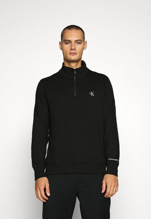 ESSENTIAL MOCK NECK - Sweatshirt - black