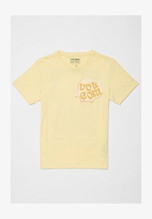 M. LOEFFLER FA SS - Print T-shirt - dawn yellow