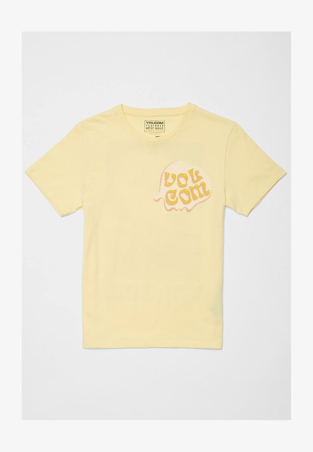 M. LOEFFLER -  JAUNE - T-shirt print - dawn_yellow