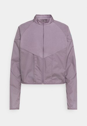 RUN MID - Fleece jacket - purple smoke