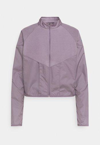 RUN MID - Fleece jacket - purple smoke