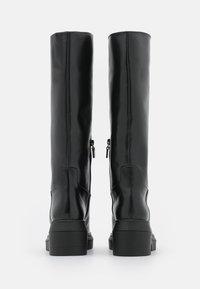 Stuart Weitzman - NORAH TALL BOOT - Platform boots - black - 3