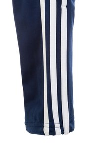 adidas Performance - TIRO 19 POLYESTER TRACKSUIT BOTTOMS - Tracksuit bottoms - dark blue/white - 3