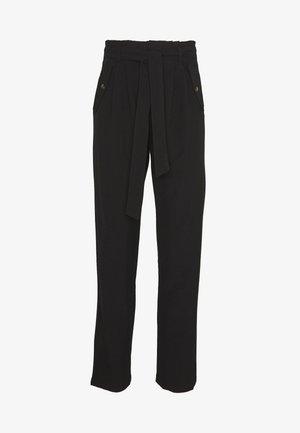 JDYSELMA PAPERWAIST PANT - Pantalon classique - black